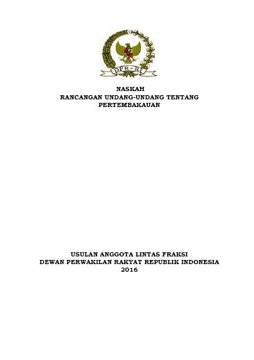 Naskah RUU Usul DPR ttg Pertembakauan 15Des16-COV