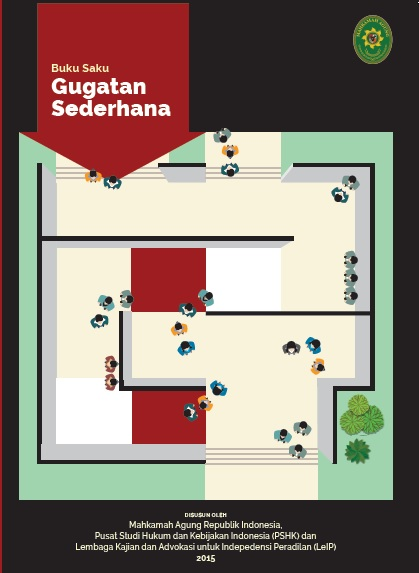 Sampul Buku Saku Gugatan Sederhana