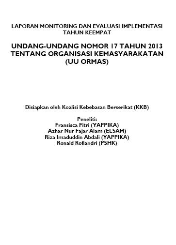 Laporan Monev RUU Ormas tahun ke 4 (2)